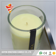 best selling custom fragrance glass jar candle
