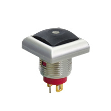 Cap Square IP67 Waterproof Metal Push Button Switch