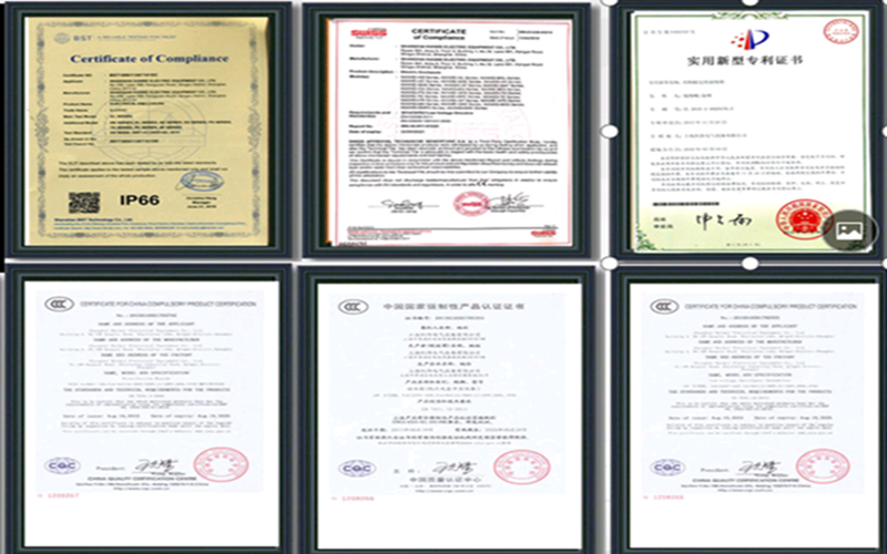 Certifications & Patents of Foam Sealing Machine