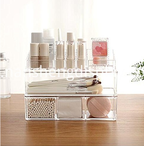 Clear Acrylic Makeup Brush Storage