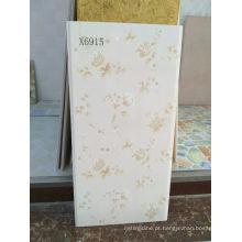 Telha cerâmica decorativa lustrada 300 * 600mm da parede