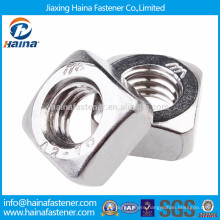 A2-70 stainless steel square nut M3-M12 DIN557