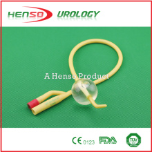 two way (2 way) Tiemann Latex Foley Catheter