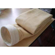 Colector de polvo Nomex Bolsa de filtro con anillo de acero inoxidable