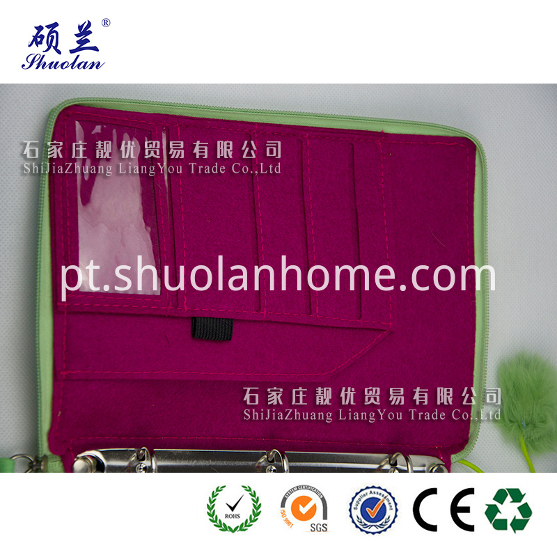 Good Quality Green Notebook Cover