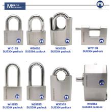 M lock W33/50WF Rotating Disc Cylinder Stainless Steel Padlock 30mm mini padlock
