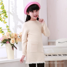 hot sale knitted autumn and winter woolen sweater designs for children