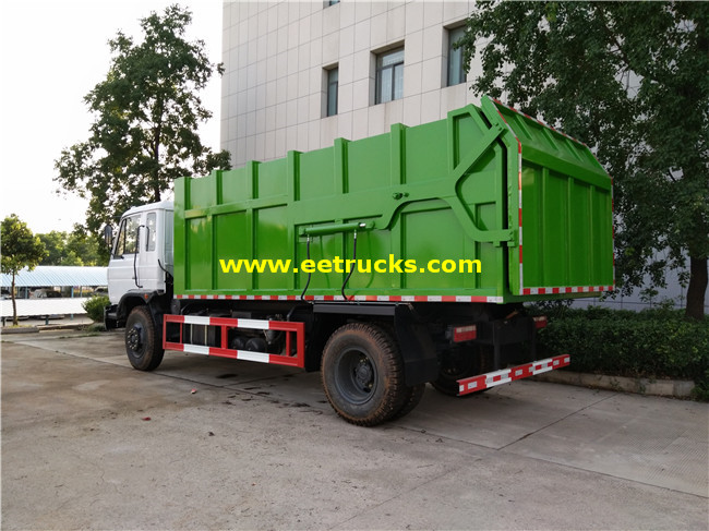 Docking Garbage Trucks