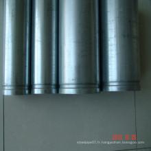 Prix d'usine de tuyaux en acier galvanisé à chaud