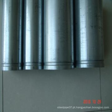 Tubo de aço galvanizado mergulhado quente da fábrica