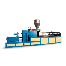 Granulateur de matériau de câble à double vis co-rotative conique