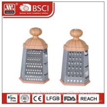 Ralador de seis lados para electrodomésticos, com cabo redondo