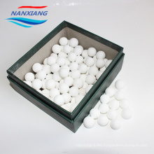 china manufacture High Quality 99 Alumina inert ceramic ball and Heat-resistant Ceramic Refractory balls