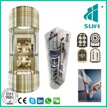 Ascenseur de tourisme avec ascenseur d'observation de bonne qualité