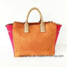 New Fashion Product Lady Fake Suede Handbags (NMDK-051901)