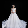 langärmeliges Hochzeitskleid in Dubai sexy Korsett Mieder Top Couture Spitze Hochzeitskleider
