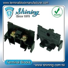 TA-010 Din Rail Type 600V 10A M3 Screw Pluggable Terminal Block