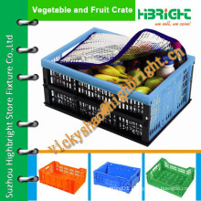 plastic food crate/storage crate with thermal bag