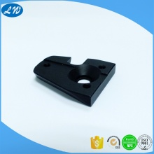 Anodized aluminum intelligent lock part
