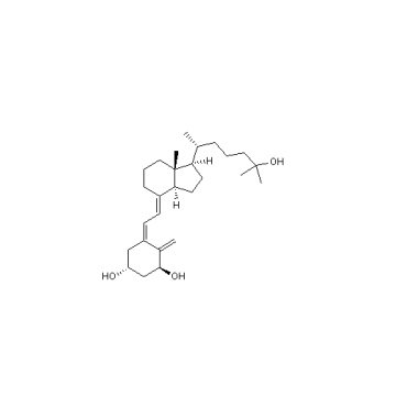 1α, 25-dihydroxy vitamine D3 calcitriol Cas 32222-06-3