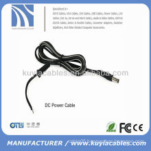 Black Copper DC Power Cable (1.5 m, with 2.1/5.5 jack)