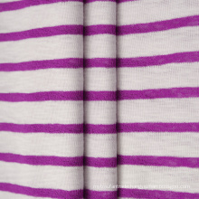 Yarn Dyed Cotton Polyester CVC Rib 1*1 Fabric