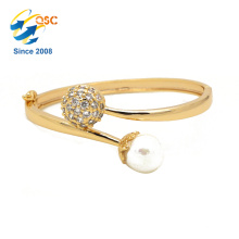 pearl gold fashionable jewelry bracelet