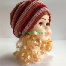 Спортивные трикотажные бенис шляпы Custom Детские зимние шапки и шапки