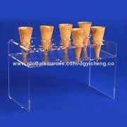 Acrylic food displays