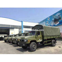 Dongfeng 4X2 military truck for troop transportation