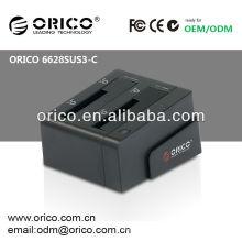 ORICO 6628SUS3-C 2.5 '' y 3.5 '' USB3.0 clon HDD de acoplamiento