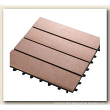 Composite Outdoor Decking/DIY Decking Tiles
