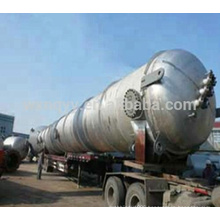 Industrial ethanol distillation column/recovery tower
