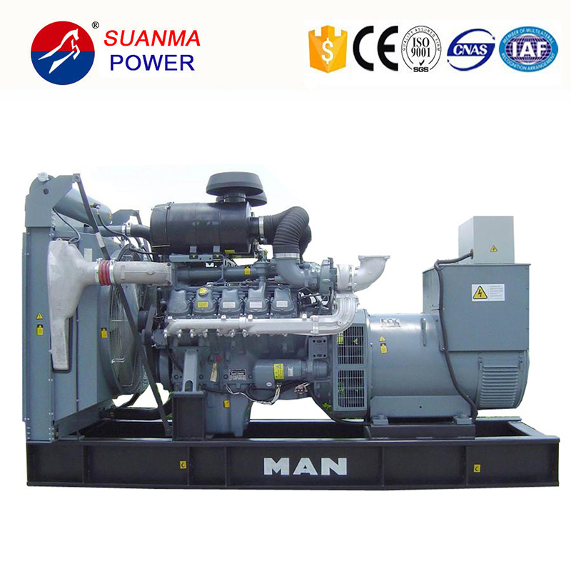 Man Electric Generator