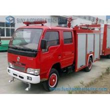 Camion de combat d'incendie de réservoir d'eau et de mousse de Dongfeng 2000L 3000L