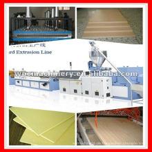 Holz Kunststoff PVC Tür Profil Extrusion Maschine