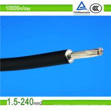 Сертификат TUV PV1-F DC 4 мм2 6 мм2 10 мм2 солнечные фотоэлектрические силовые кабели