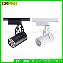 7W LED Track Light para tienda de ropa Iluminación decorativa Focos Track Light Lamps