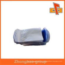 La alta calidad diseñó el PVC azul de la película del diseño encogimiento bolso para el cosmético