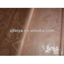 Новое прибытие Африканский ткань базен riche жаккард Гвинея парчи дамасской оптовой цене персикового цвета FYC7024-J в наличии