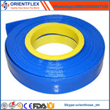 Flexible Nueva Techology 4 pulgadas PVC Layflat Hose