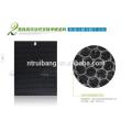 filtre à air de charbon actif d'enlèvement d'odeur de rendement élevé