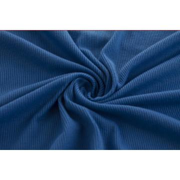 Polyester with Spandex Stretch Rib Fabric, Cuff Fabric