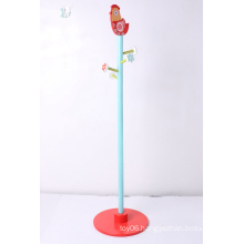 Standing Coat Hanger Wooden Furniture Wooden Coat Hanger Cloths Hangers Decoration Furniture Coat Rack Red Chick