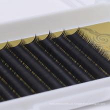 Extensões de cílios coreano seda e cílios Fales individuais