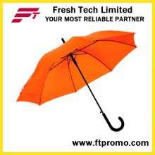 Abra el paraguas abierto 23inch con la impresión de la pantalla