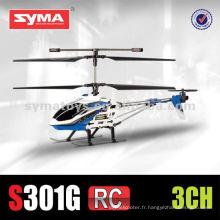 SYMA S301G cadre en alliage de 3,5 canaux en taille moyenne avec différentes têtes de couleurs - hélicoptère RC