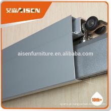 Fábrica de moldagem profissional diretamente rolo de porta deslizante de alumínio