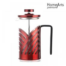 Hot sale Red Coating Coffee and Tea French Press