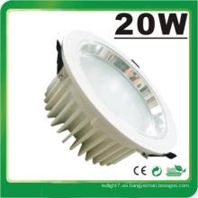 Lámpara LED Dimmable LED 20W Luz abajo Luz LED